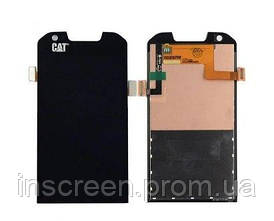 Дисплей Caterpillar Cat S60 з сенсором (тачскрін) чорний