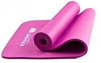 Коврик для йоги и фитнеса Power System Fitness-Yoga Розовый цвет