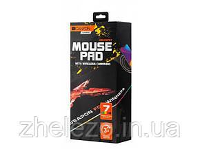 Килимок для миші Canyon CND-CMPW7 Black з бездротовою зарядкою QI, фото 2