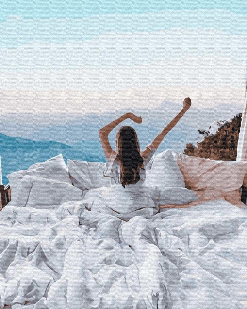 Картина по номерам люди Идеальное утро 40х50 см, BrushMe (GX34135)