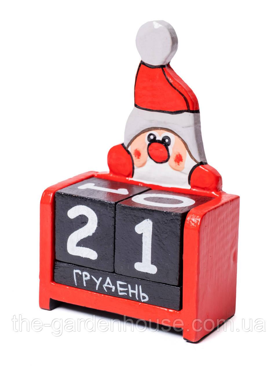 "Вечный календарь ""Дед Мороз"", 15х10 см"