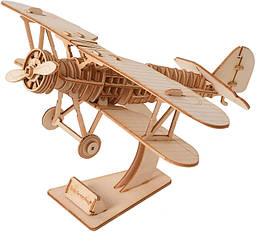 Деревянный конструктор DIY - JM01 Самолёт