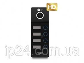 Видеопанель NeoLight MEGA/4 FHD Graphite для 4 квартир