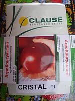 Кристал F1 Cristal F1 Томат (Clause) 1 г - РОЗОВЫЙ, круглый, индетерминантный.