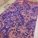 Качественный рулонный мерный коврик ширина 80 см для Ванной Туалета Кухни Коридора Дорожка Аквамат, фото 3