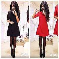 Женское нарядное платье с гипюровым рукавом, фото 1