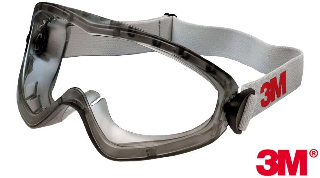 Окуляри захисні закриті робочі 3M США 3M-GOG-2890ASAF