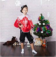 Карнавальный костюм Мушкетер красный, фото 1