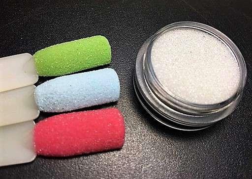 Бриллиантовая пыль ( сахарок ) для ногтей № 3