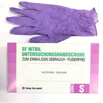 Перчатки SF Medical нитриловые смотровые нестерильные неприпудреные р.S