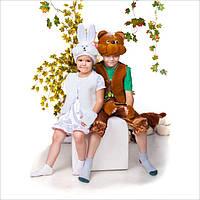 Карнавальный костюм Зайка девочка, фото 1