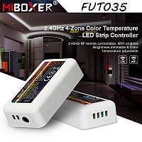 2.4G диммер-контроллер ССТ Miboxer Mi-light FUT035 10А для светодиодных лент. Для 4-х зонных пультов, фото 1