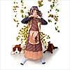 Детский карнавальный костюм Баба Яга с париком