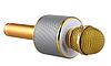 Микрофон беспроводной для караоке Bluetooth Wester WS-858 Золотой цвет, фото 3