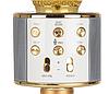 Микрофон беспроводной для караоке Bluetooth Wester WS-858 Золотой цвет, фото 2