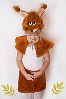 Карнавальный меховой костюм Белочка, фото 1