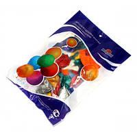 Набор воздушных шариков МИР ШАРОВ 654 Металлик Ассорти 12 дюймов 50шт / уп