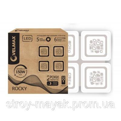 Смарт світильник світлодіодний VELMAX V-CL-ROCKY 150W, 500*5000мм, 3000K-6500K, 10500LM пульт