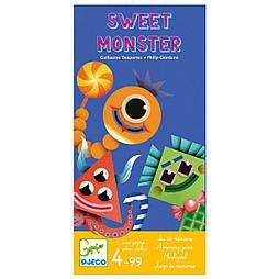 """DJECO Игра Мемо Sweet Monster  """"Монстры и лакомства"""""""