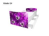"""Кровать """" Бабочки 3 """""""