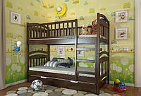 """Детская деревянная кровать-трансформер """"Смайл"""""""