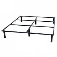 Рамка кровати OrtoLand металлическая 200х160 на ножках