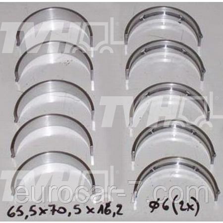 Вкладыши коренные Std / 0,25 / 0,50 / 1,00 на двигатель Toyota (Тойота) 1DZ-2