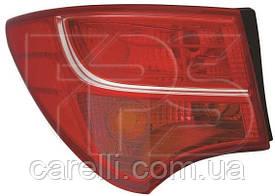 Фонарь задний правый внешний без LED для Hyundai SANTA FE 2012-16
