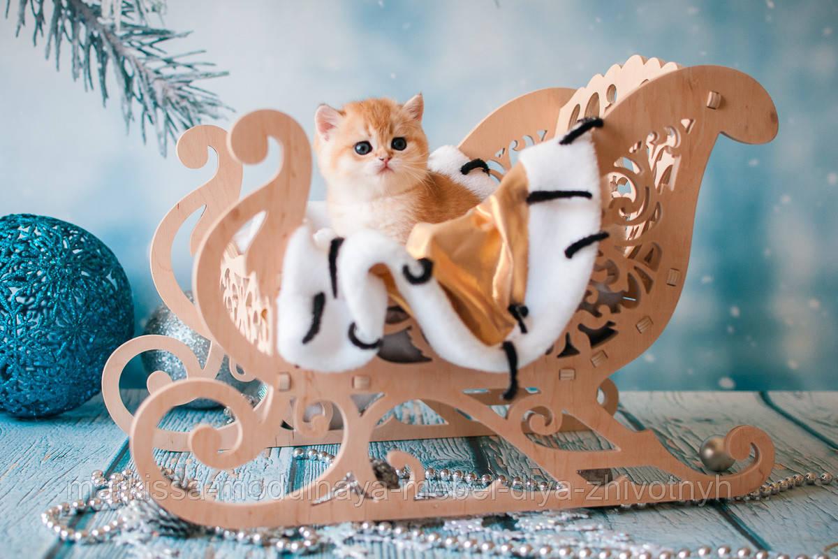 Лежанка - Кроватка санки для кошек Markissa TM