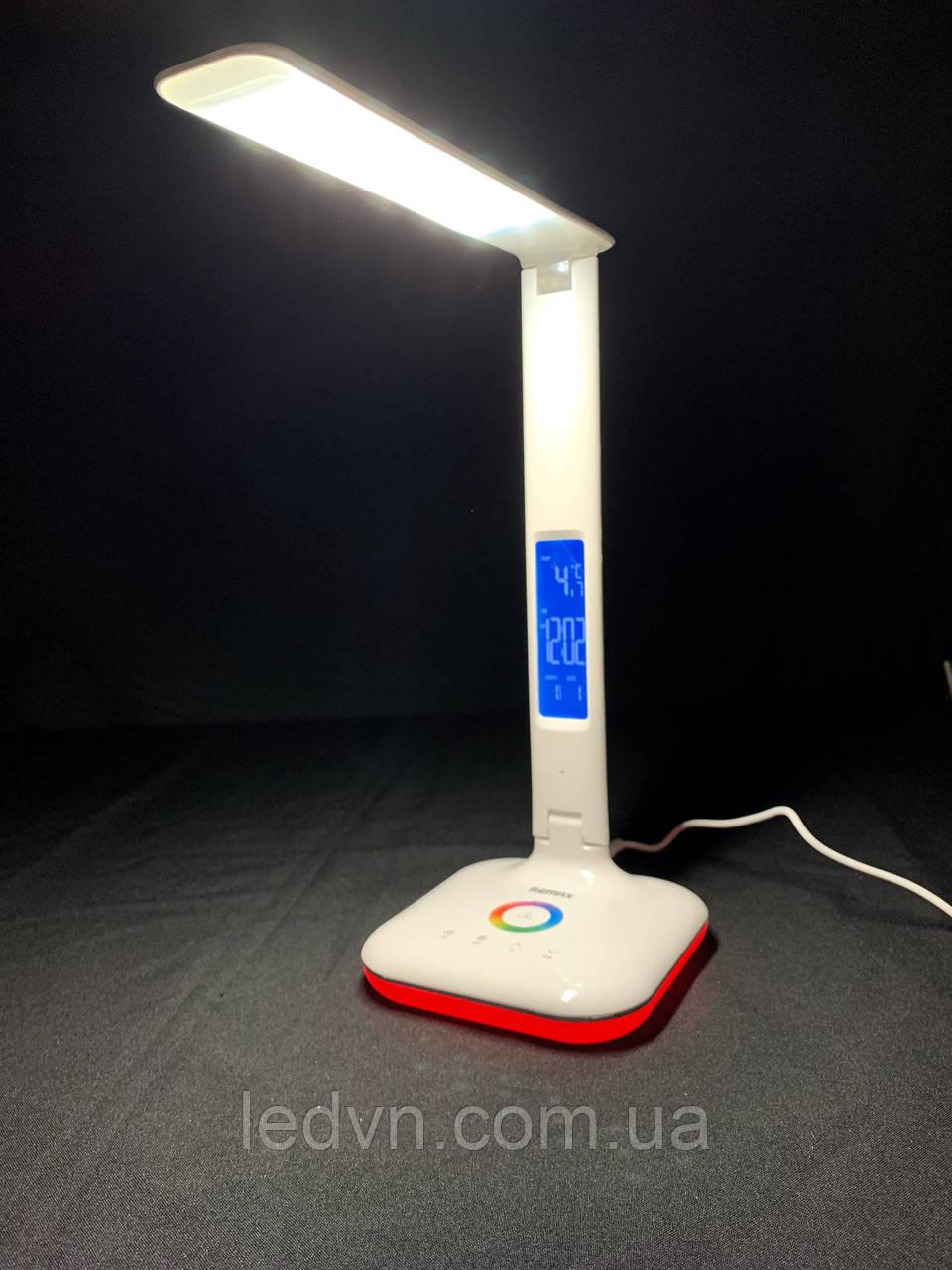 Настольная LED RGD лампа 6W сенсорная, белая