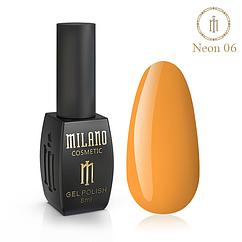Гель-лак MILANO Neon NE-06 8 мл