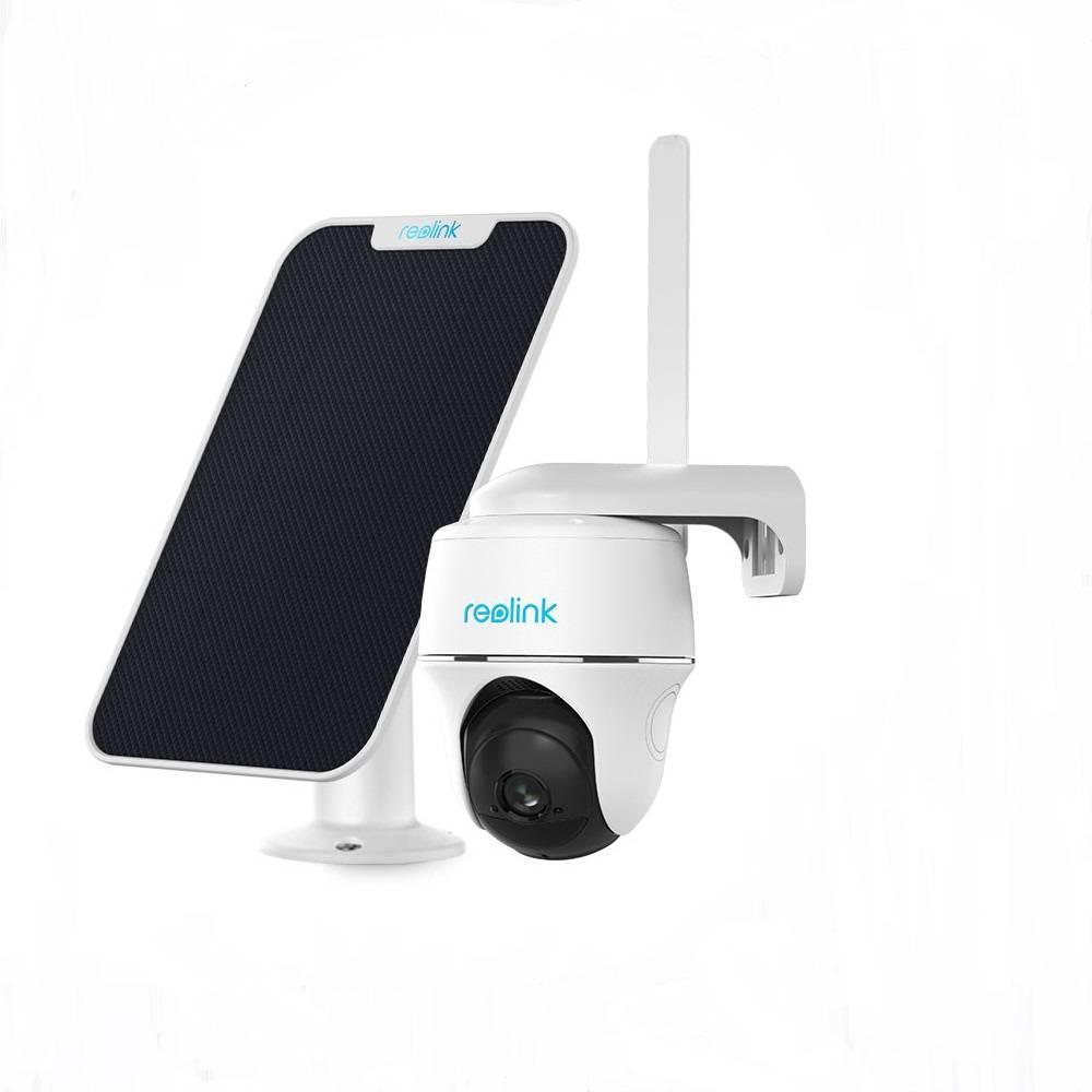 4G камера Reolink Go PT (3G, LTE, WiFi, поворотная) + солнечная панель