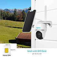 4G камера Reolink Go PT (3G, LTE, WiFi, поворотная) + солнечная панель, фото 3