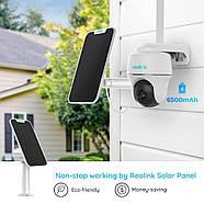 4G камера Reolink Go PT (3G, LTE, WiFi, поворотная) + солнечная панель, фото 5