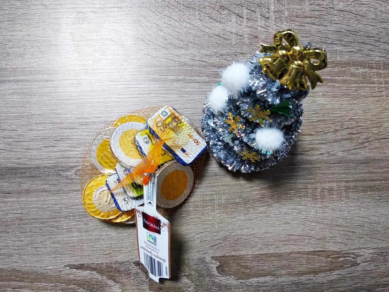 Шоколадні монети Favorina 150 гр.
