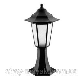 Светильник парковый FLORA 40W, E27, IP44, ударостойкий PC/PP, чёрный