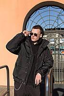 Пуховик мужской оверсайз. Куртка зимняя мужская oversize