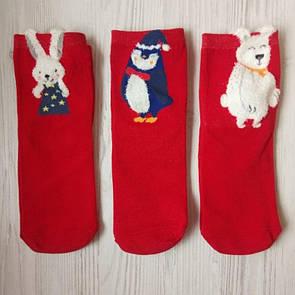 Ціна 80 грн за комплект з 3-х пар новорічних різдвяних шкарпеток новорічні шкарпетки