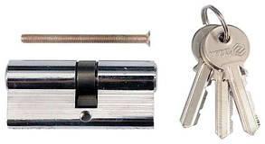 Серцевина(Циліндр)Замку L=62 мм(31/31 мм)3 ключа VOREL 77170