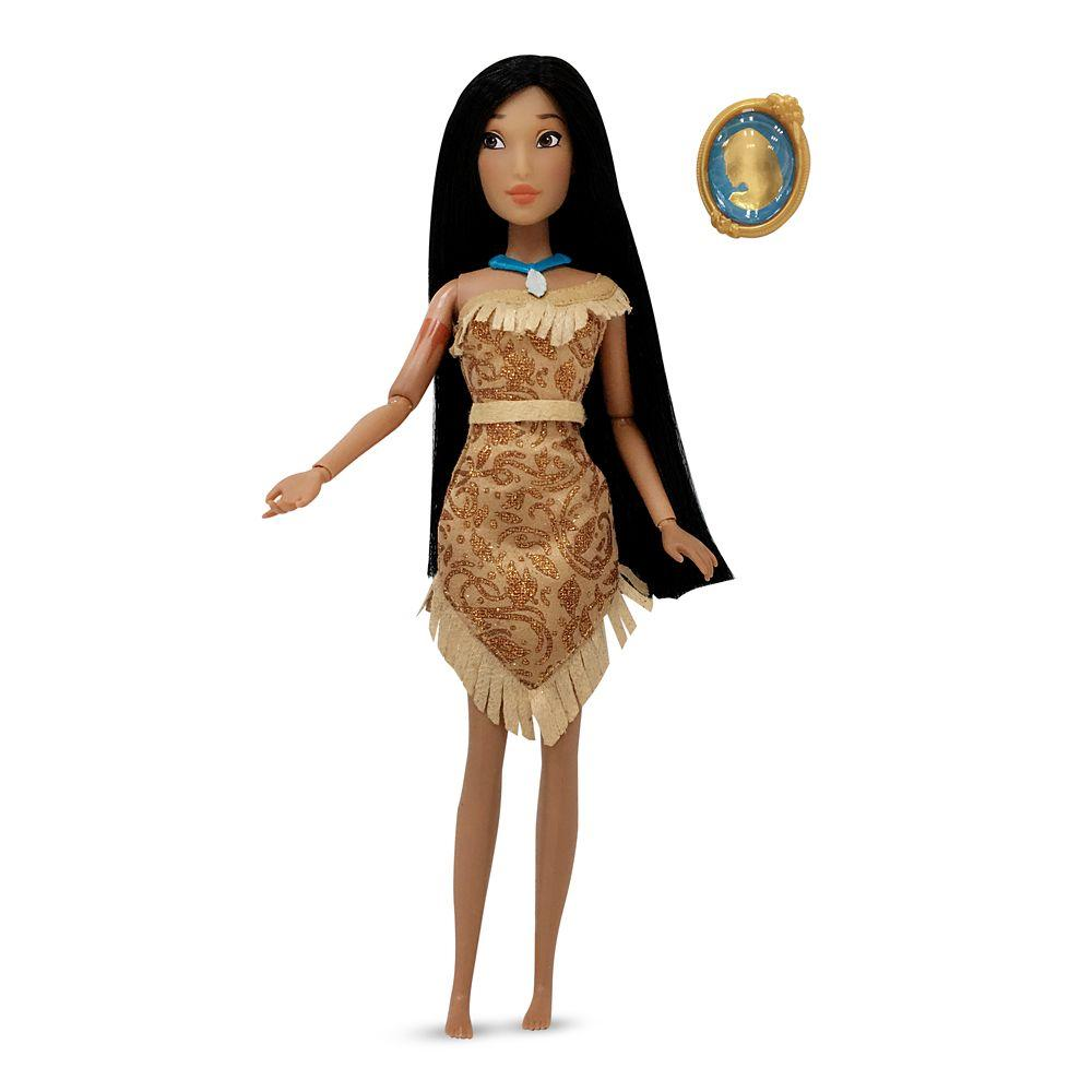 Кукла Дисней Покахонтас с кулоном Pocahontas Classic Doll with Pendant