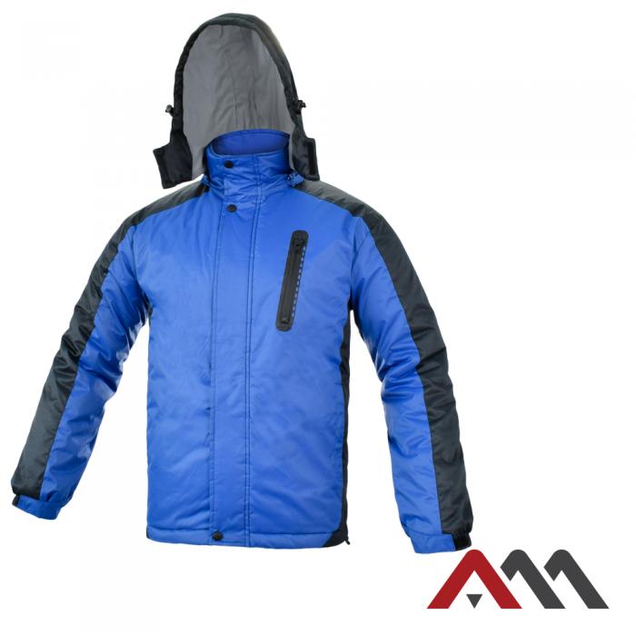 Куртка зимняя  TOPJACK BLUE/BLACK KURTKA