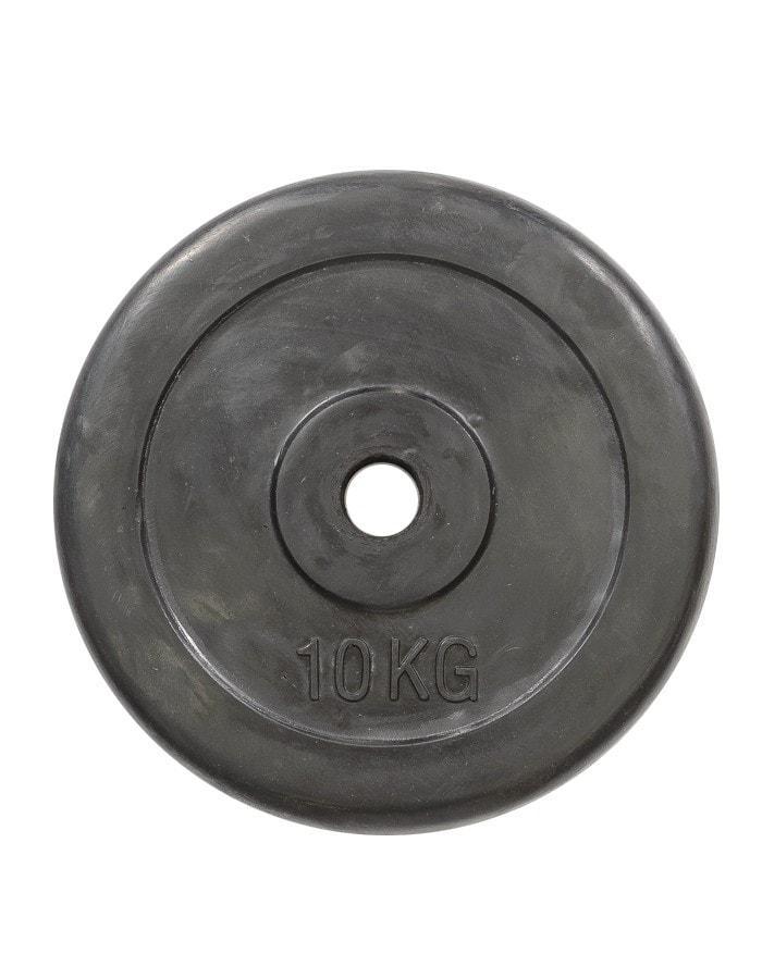 Диск обрезиненный 10 кг R-10