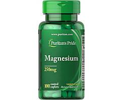 Машний Magnesium 250 mg Puritan's Pride 100 таб