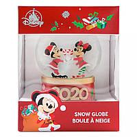 Снежный шар Микки и Минни Маус Disney Store 2020, фото 1