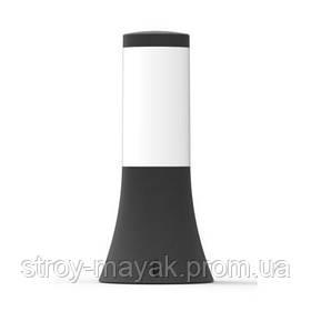 Светильник парковый малый GARDEN 40W, E27, IP44, ударостойкий PC/PP, черный