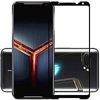 Защитное стекло LUX для Asus ROG Phone 2 (ZS660KL) Full Сover черный 0,3 мм в упаковке