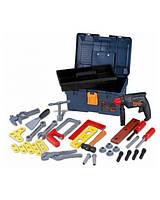 Набор инструментов в чемодане с дрелью, 3+