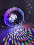 Диско LASER Light заливка снег разноцветная SE 7414, фото 2