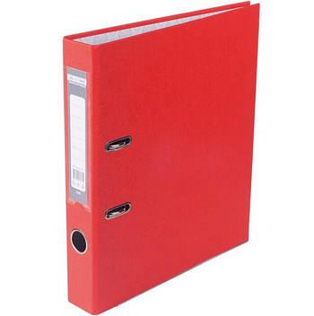 Папка-регистратор односторонний А4 50 мм Buromax (красный) BM3012-05C