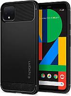 Чехол Spigen для Google Pixel 4 XL - Rugged Armor, Matte Black (F25CS27554)